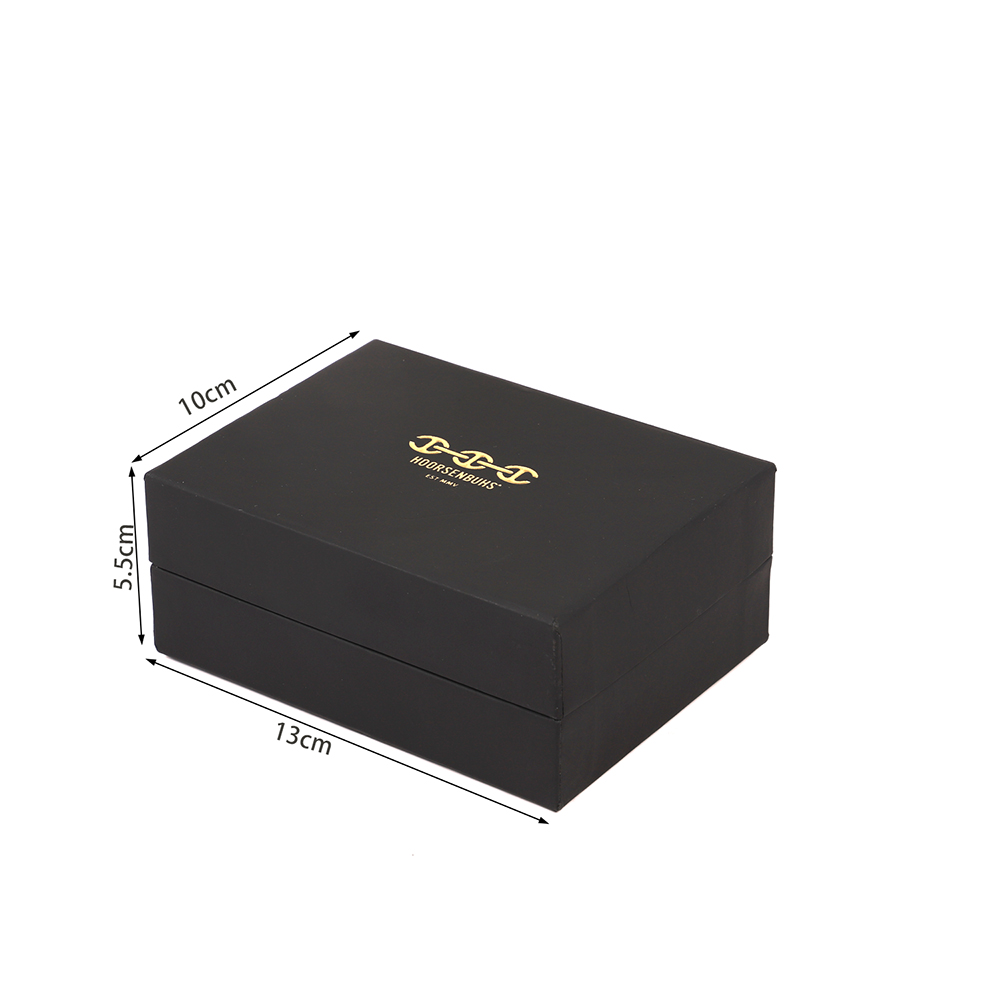 Custom Romantic Sweet Luxury Suede Ring Box Jewelry Box With Nice Gold Stamp Logo