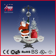 (40110U170-ST3-SS) Snowing Christmas Decorations with Umbrella Base