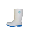 WBS steel toe cap food industry white pvc safety boots for work