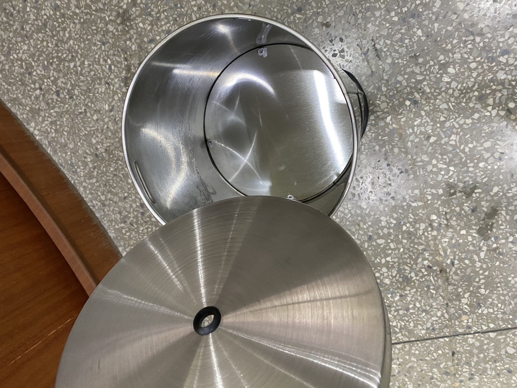 Stainless steel Gym Wipes dispenser