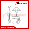 DS-KNMK / DS-KNMKA Non-Marking Vertical Clamps, Non Marring Plate Lifting Clamp