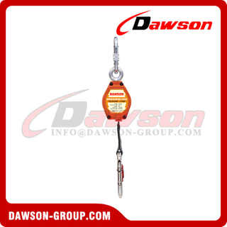 Vertical Retractable Lifeline with Steel Large Snap Hook