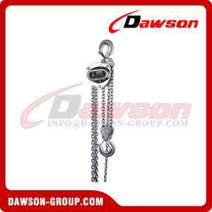 DS-ST-C Stainless Steel Chain Hoist, SS Chain Block, Manual Chain Hoist
