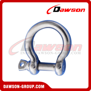 Stainless Steel 316 JIS Type Bow Shackle, AISI304 JIS Type Bow Shackle