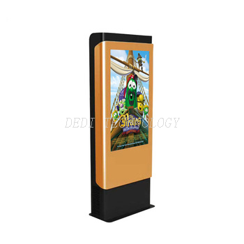 43inch floor standing outdoor waterproof lcd display signs with high brightness digital signage kiosk