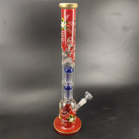 Borosilicate Glass Water Pipe with Honeycombs