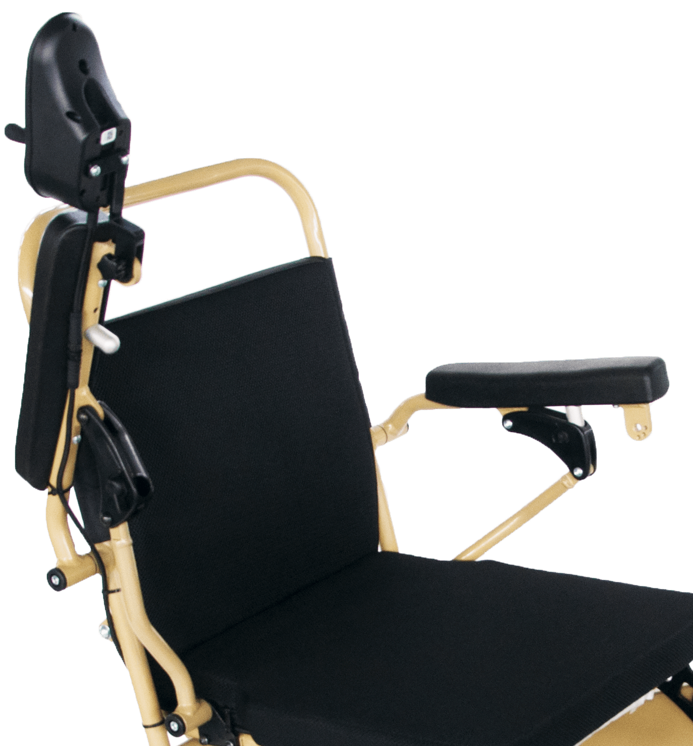 wheelchair armrests