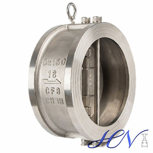 Stainless Steel Duo Plate Disc Wafer Check Valve Gas Line
