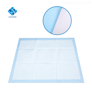 Hospital Disposable Organic Or Cotton Material OEM Cotton Adult Nursing Underpad Bed Pad