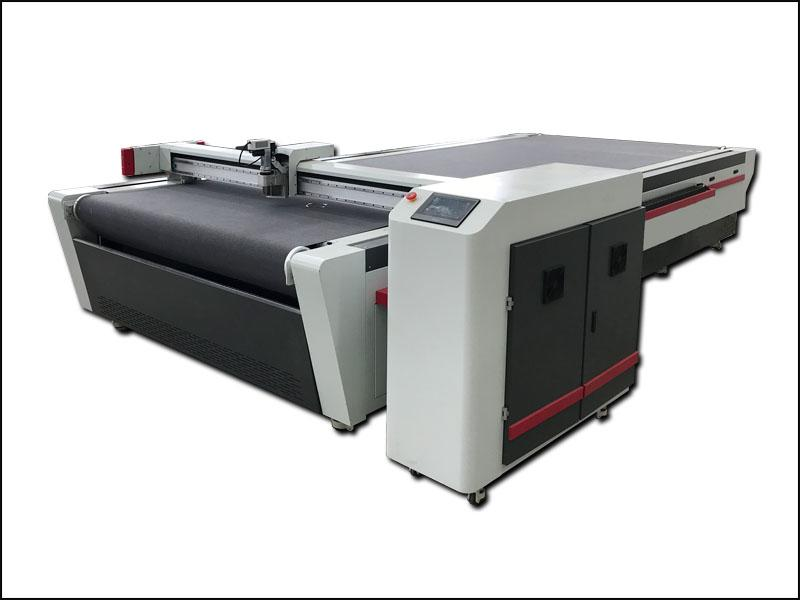Digital Fabric Oscillating Knife Cutter Plotter Machine For Cloth With Auto Loading System