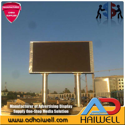 Outdoor-SMD-LED-Screen-Display Advertising Billboard Struktur 10mx5m