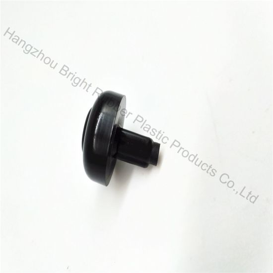 Balck Plastic Stopper with Screw Csutomized in High Precision