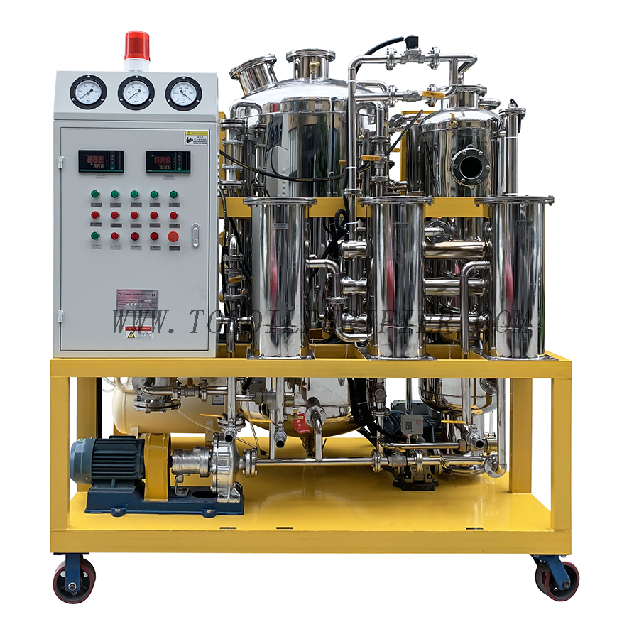 Series TYS Food Grade Oil Purification and Decoloration Machine