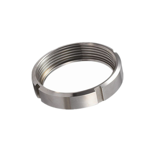 Stainless Steel 304 DIN Hygienic Fitting Union Round Nut