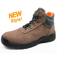 5060 Oil resistant anti slip breathable workshop sport safety boots with steel toe