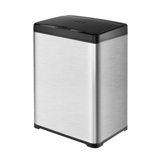 40Liter Sensor Trash Can with Metal for Indoor Use