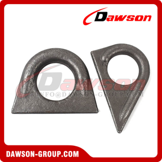 Drop Forged Customized Rigging Carbon Steel Weld-on Lifting Lug Pad Eye, Lifting Ring