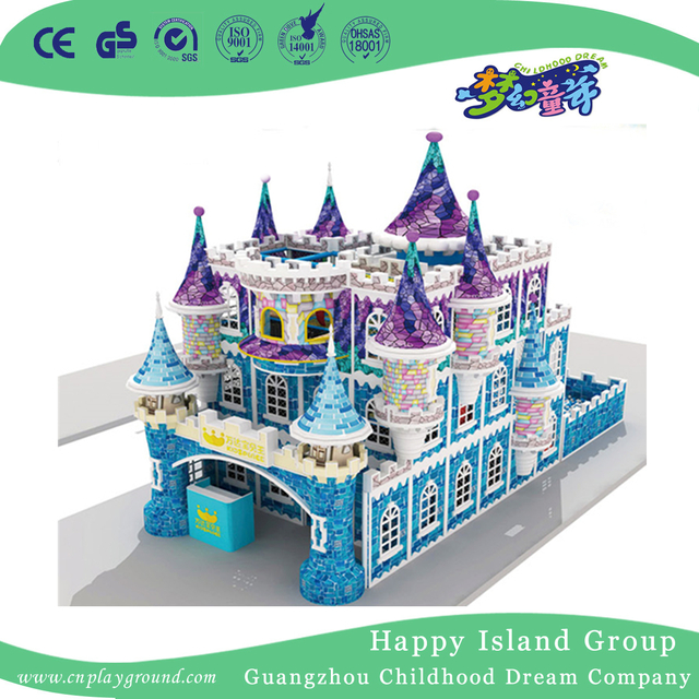 Large Toddler Half-Open Castle Indoor Playground For Sale (HHK-8201)