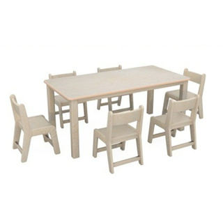 Kindergarten Multilayer Board Children Rectangle Table (19A2703)