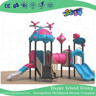 Kindergarten Small Lovely Toddler Slide Playground (1914403)