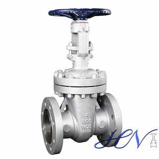 Cast Steel Flanged Handwheel Operated Gate Valve in Plumbing