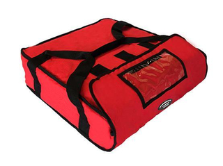 superior quality Best Reusable red pizza food delivery insulated cooler bag