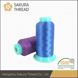 OEKO-TEX 100 1 Class 50D Polyester embroidery thread