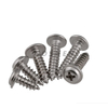 Stainless Steel Cross Recessed Truss Head Tapping Screws ST3.8*50mm