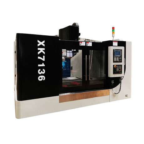XK7136 2019 HOT SELLING 3 AXIS CNC MILL WITH 12 POSITION ATC