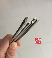 cold drawn stainless steel half round wire
