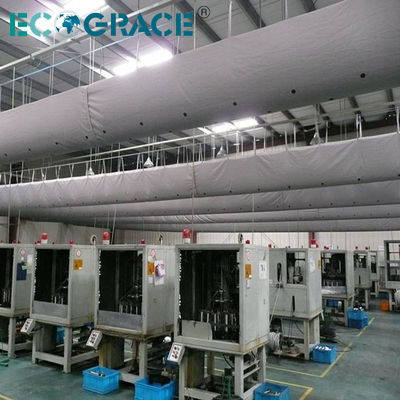 Flame Retardant Fabric Air Duct for Industrial Ventilation