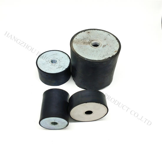 Rubber with Steel Buffer for Motorcycle