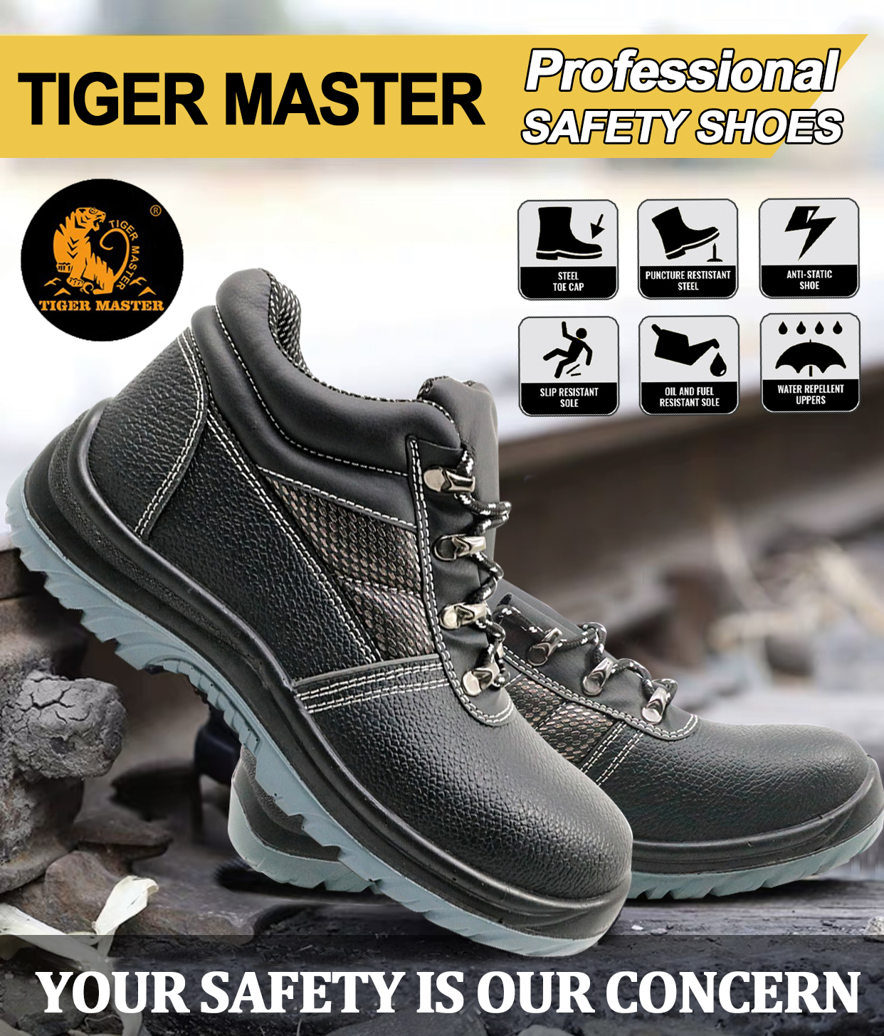 TM002 SAFETY SHOES