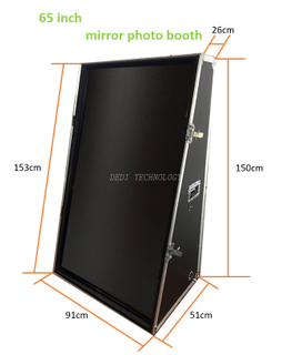 52inch Photo Booth Magic Selfie Mirror Photobooth for Party Events