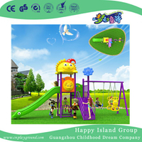 Outdoor Commercial Swing Equipment For Children (BBE-A72)