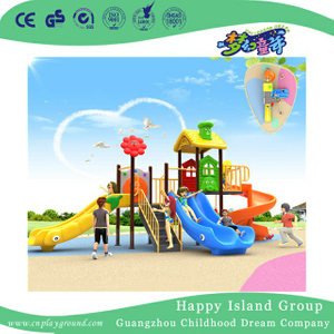 Outdoor Kindergarten Slide Children Playground For Promotion (BBE-B1)