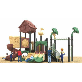 Outdoor Middle Children Tree House Playground (ML-2001601)