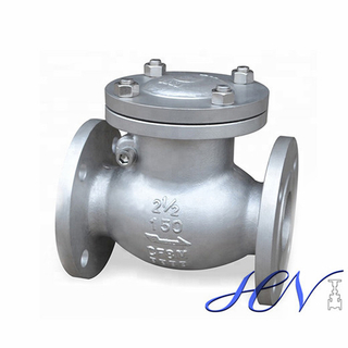 Drain Flanged Backflow Stainless Steel Swing Check Valve