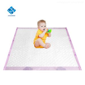 X-LARGE Size Extra Absorbent Baby Diaper Changing Mat, Bed Protection Pee Pads with cute Printing