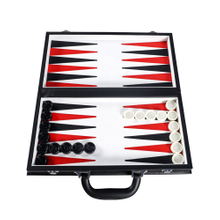 2020 Hot Sale Portable Wooden Pu Leather Fashion Backgammon Case Chess Board