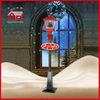 (LV180S-RH) Classic Red and Black Christmas Street Lamp with Music