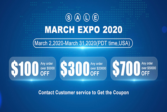 One of the largest annual international shopping festivals—— March EXPO