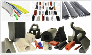 High Quality Solid Rubber Extrusion Part