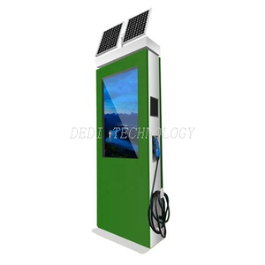 Solar Powered Car Charging Kiosk