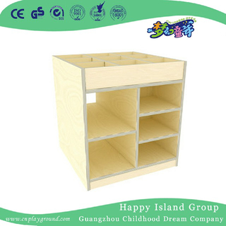 Kindergarten Art Room Children Wooden Cabinet (HJ-4412)