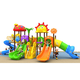 School Plastic Children Combination Slide Playground (BBE-N28)