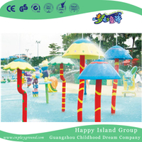 Water Park Lovely Water Mushroom Spraying Game Equipment (HHK-11109)