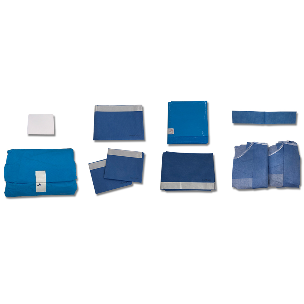 Sterile Surgical universal drape pack with CE