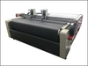 Double Head Fabric Fur Oscillation Knife Cutting Plotter Machine with Auto Feeding System