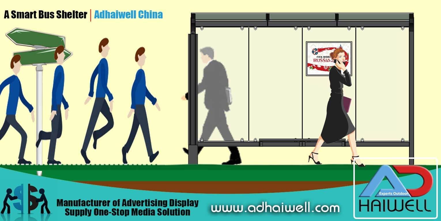 Bus shelter China Supplier